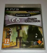 ICO y sombra del coloso HD COLLECTION NUEVO PRECINTADO PAL Playstation 3 PS3 Reino Unido