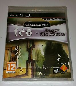 ICO and Shadow of the Colossus HD Collection NEW SEALED UK PAL Playstation 3 PS3