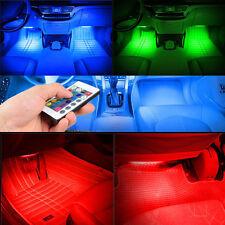 AUTO Neon Multi Colore Interni Luce Kit sigaretta presa CONNESSIONE personalizzata MOD
