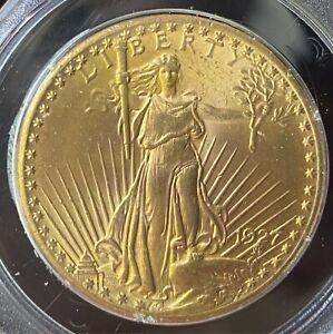 1927 Gold $20 St. Gaudens Double Eagle PCGS MS63