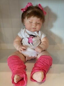 REBORN baby girl DOLL BY SERENA WEISS Beautiful big baby!