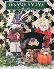 Holiday Medley Tole Painting Book by Nina Owens Susan Scheewe Presents