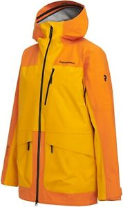 Peak Performance M Vertical 3L Jacket Orange Altitude