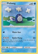4X Poliwag (30/149) Common -Sun and Moon- Base Set NM- Pokemon