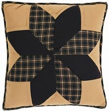 "COUNTRY PRIMITIVE RUSTIC PLYMOUTH STAR THROW PILLOW COVER 16/""X16/"""