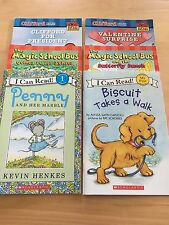 Lot 6: I Can Read: Penny.Buiscuit./ The Magic School Bus / Clifford The Big Red