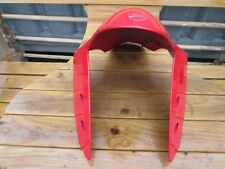 DUCATI PANIGALE RED FRONT FENDER FRONT MUDGUARD ORIGINAL 564.1.094.1A ABS - PA