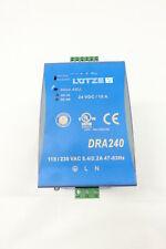 Lutze Dra240 24b Power Supply 115230v Ac 24v Dc 240w