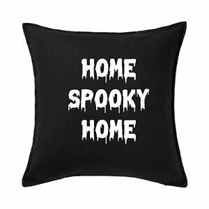 Home Spooky Home Cushion Cover, Halloween Cushion Cover, Halloween Pillow