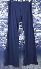 Lululemon Women's Black Athletic Yoga Pants Size 8 Medium Back Logo 32 Inseam