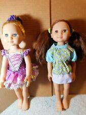 "Dolls~Melissa & Doug 14"" Princess Celeste & Ballerina Victoria (2 Pc. Set)-Lot"
