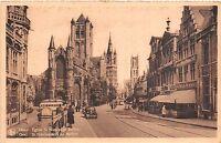 Br36080 Gend Gand Eglise St. Nicolas et Beffroi      Belgium
