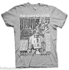 STAR WARS DROIDS NIGHT  T-Shirt  camiseta cotton officially licensed