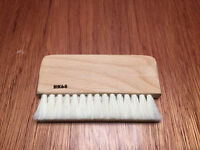 HK68 Wood Goats Hair Vinyl Record Cleaning Brush (2CM)
