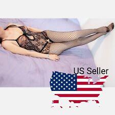 Bodystockings Women Sleepwear Babydoll Lace Nightwear Stockings Sexy Lingerie