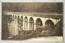 """CPA """" Le Morvan Illustré - Le Viaduc de MONTREUILLON"""