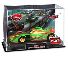 Disney Store Cars 2 Rip Clutchgoneski CHASE VERSION ! Racer Collector Case - NEW