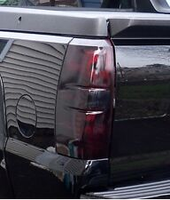 07-13 CHEVY AVALANCHE SMOKE TAIL LIGHT PRECUT TINT COVER SMOKED OVERLAYS