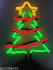 TANNENBAUM Neonleuchte @ Neon sign fir chrismas tree Neonreklame Weihnachten