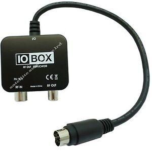 IO LINK BOX RF OUTPUT CONVERTOR USE WITH MAGIC EYE TV LINK For SKY HD BOX