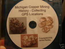 Michigan Copper Mines History Collecting Gps Locations