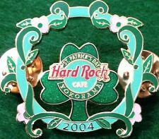 Hard Rock Cafe YOKOHAMA 2004 St. Patrick's Day PIN Shamrock & Vines - HRC #21392