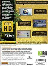 NAT GEO QUIZ ! WILD LIFE GIOCO NUOVO PER MICROSOFT XBOX 360 EDIZIONE ITALIANA IT