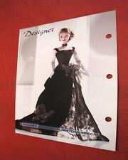 Barbie B Collector 2004 Paper jOYEAUX B3430 designer spotlight by Heater Fonseca