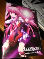 ANGEL BEATS 3 DVD NTSC Region 3 VGC