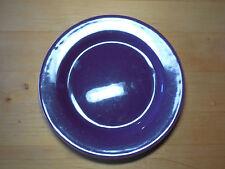 "Bobby Flay BF Portugal PLANCHA Purple Set of 2 Dinner Plates 11"" pics are light"