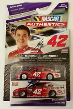 KYLE LARSON **HAND SIGNED** #42 TARGET CHEVY 1/64 DIECAST + 6 GLOSSY PHOTOS