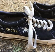Rare Vintage Converse One Star Shoes Womens 5.5 Star Unique Yellow Sneakers