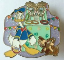 Hong Kong Disneyland HKDL Pin Trading Carnival Deluxe LE pin Donald Chip Dale