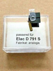 1 Stück Nadel Elac D 791 S (D791S) aus Japan für Tonabnehmer ESG 791 usw.