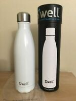 S'well Vacuum Insulated Stainless Steel Water Bottle, 17 oz, Angel Food