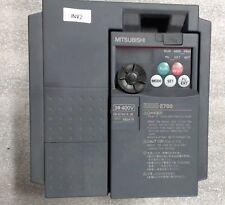 Used Mitsubishi Freqrol-E700 inverter FR-E740-2.2K 3Phase  380 - 480vac 50.60Hz