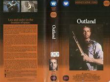OUTLAND - Sean Connery - VHS - NTSC - NEW - Never played! - Original USA release