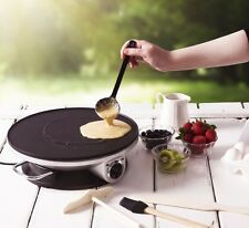 Electric Crepe Maker Machine Non Stick Pancake Pan Cooking Griddle Accessories