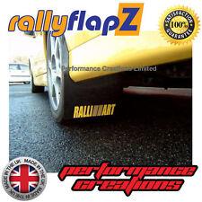 RallyflapZ MITSUBISHI EVO 7 polvere da sparo Parafanghi /& fissaggi 4 mm Nero Ralliart Bianco r/&o