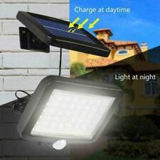 LED Solar Flood Light PIR Motion Sensor Wall Light Lamp Security Garden U7K7