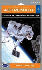 4 Packs Astronaut Ice Cream Chocolate Chocolate Chip Space Food NASA Freeze