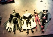 4 Dc Justice League Unlimited 4� Super Hero Action Figures Hawkgirl & more