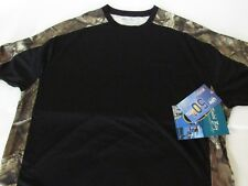 Bimini Bay UPF+50 protection Camo Short Sleeve Shirt Orange,Black,Beige size L