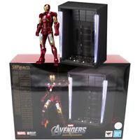 Bandai Tamashii Limited S.H.Figuarts Marvel Iron Man Mark VII 7 & Hall of Armor