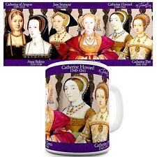 Henry VIII Wives Print History Educational Theme Mug