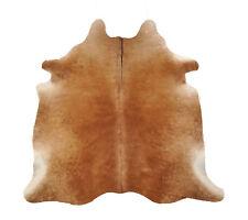 piel de Vaca Piel de toro marrón 205 x 165cm piel de vaca alfombra