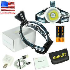 Smart XM-L2 LED Headlamp light Torch long distance hunting headlight 5h standby