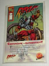 Image Wizard RIPCLAW #1/2 Special Edition NM