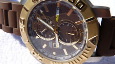 TECHNOSPORT Sapphire Cristal TS-230-11 Brown Gold 50mm Watch Techno Sport