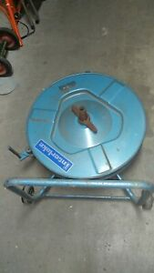 Interlake Strapping Banding Dispenser Steel/Plastic Band Blue Cart with Banding